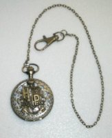 Часы Harry Potter Pocket Watch 1st Design ( Antique Bronze Color )