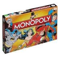 Монополия настольная игра DC Comics Retro Monopoly Game