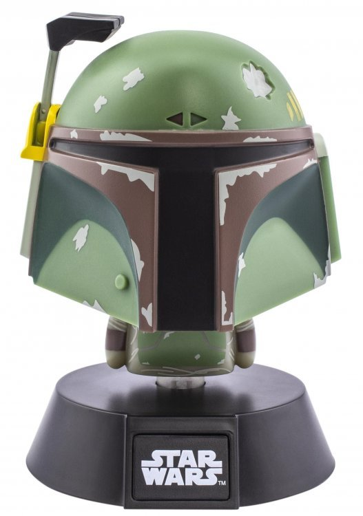 Ночник Paladone Star Wars: Boba Fett Icon Light