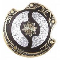 Декоративный щит Дота 2 - Aegis of Champions Dota 2 - Gold/Silver 10 см металл