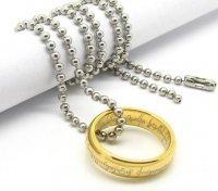 Кольцо LOTR Ring c цепочкой  №2