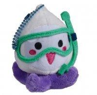 Мягкая игрушка - Overwatch Mini Pachimari Plush Hangers - Snorkelmari