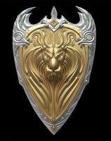 Реплика щит World of Warcraft Lion King Shield King Llane