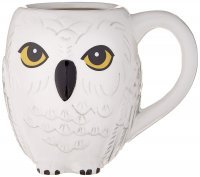 Кружка Harry Potter Hedwig 3D Sculpted Ceramic Mug  20 oz