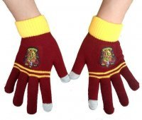 Перчатки Гарри Поттер Гриффиндор Harry Potter Gryffindor gloves