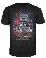 Футболка Men's Pop! T-Shirts: Star Wars - Force Awakens (размер M)
