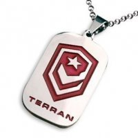 Медальон StarCraft 2 Terran Necklace