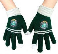 Перчатки Гарри Поттер Слизерин Harry Potter Slytherin gloves