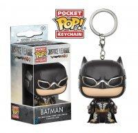 Брелок DC: Funko Pocket POP! Keychain - Justice League - Batman