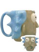 Чашка Рик и Морти - Rick Sanchez Calici Tazze 3D Sculpted Mug