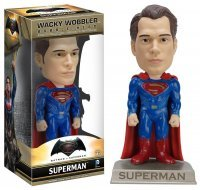 Фигурка Funko Wacky Wobbler: Batman vs Superman - Superman Action Figure