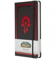 Блокнот World of Warcraft: Horde Hardcover Ruled Journal (Hardcover)