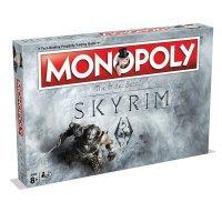 Монополия настольная игра Skyrim Monopoly Board Game Скайрим