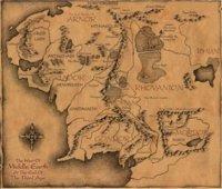 Коврик  The Hobbit Mousepad Карта