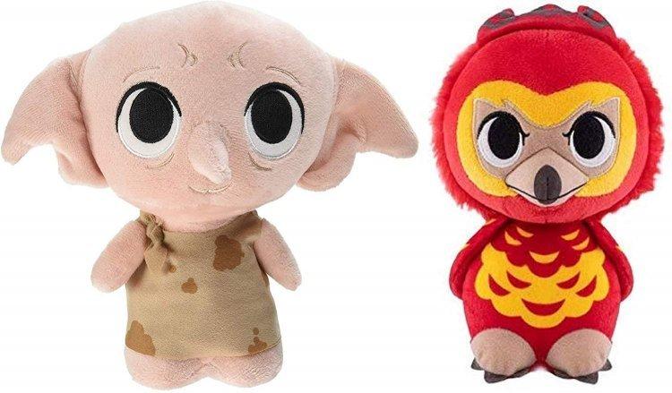 Мягкие игрушки Funko SuperCute Plush: Harry Potter - Dobby and Fawkes Plush