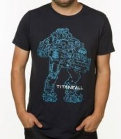 Футболка Titanfall Atlas Outline Premium Tee T-Shirt (размер S, 3XL)