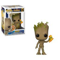 Фигурка Marvel: Funko POP Avengers Infinity War - Groot with Stormbreaker Грут