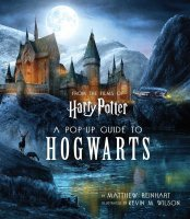 Книга 3D карта Хогвартс Harry Potter: A Pop-Up Guide to Hogwarts (Твёрдый переплёт) (Eng)