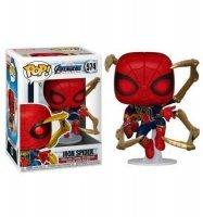 Фигурка Funko Marvel: Avengers Endgame - Iron Spider with Nano Gauntlet Человек-Паук с нано-перчаткой