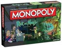 Монополия настольная игра Рик и Морти Monopoly Rick and Morty Board Game