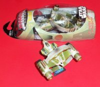 Фигурка Hasbro STAR WARS  KIT FISTO'S JEDI STARFIGHTER with HYPER RING- 2007