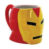 Чашка Avengers - Iron Man 19 oz. Molded Ceramic Mug
