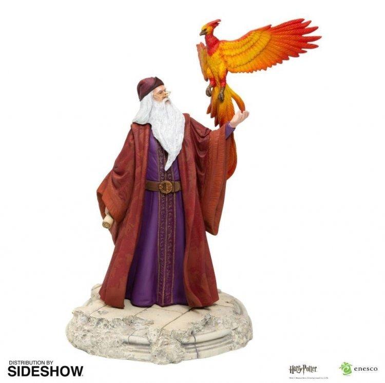 Статуэтка Harry Potter - Dumbledore with Fawkes Дамблдор с Фениксом
