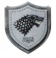 Настенный герб Game of Thrones Stark Direwolf House Crest Wall Plaque
