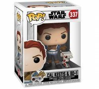 Фигурка Funko Pop! Games: Jedi Fallen Order - Cal Kestis with BD-1