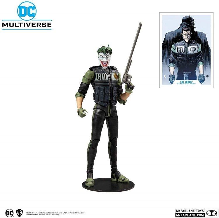 Фигурка McFarlane Toys DC Multiverse The Joker: Batman White Knight #8 (Comics 2017) Джокер