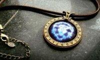 Медальон World of Warcraft Alliance (Металл + стекло)