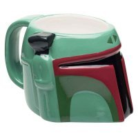 Чашка Star Wars Boba Fett Ceramic 3D Mug