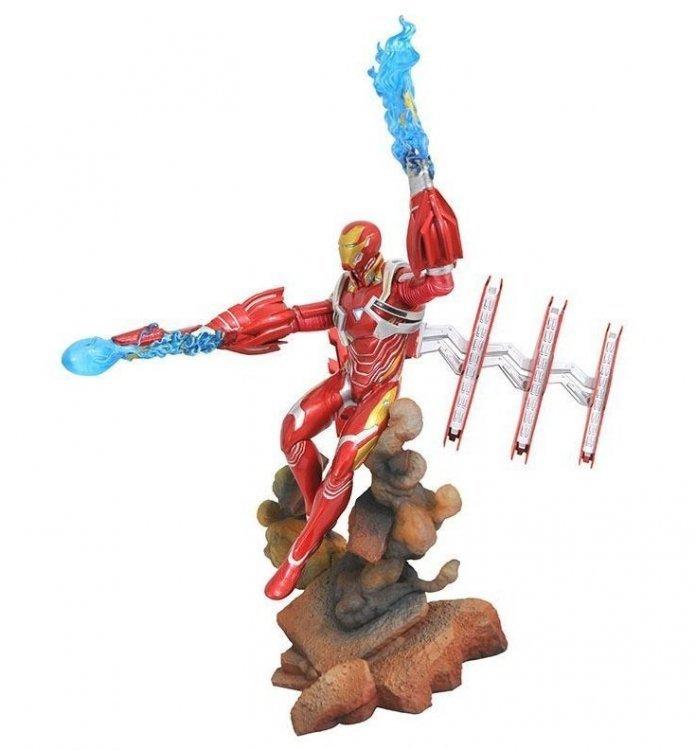 Фигурка Diamond Select Toys Marvel Gallery: Avengers Infinity War: Iron Man Mk50 Diorama Figure