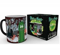 Тепловая кружка Rick and Morty. Heat Change Mugs - Pickle Rick GB eye