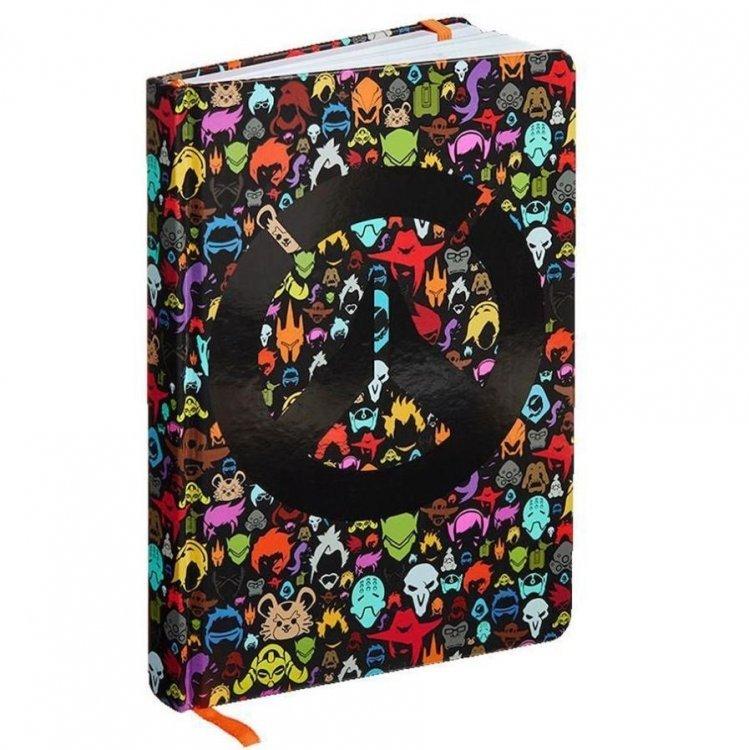Блокнот Overwatch Character Icon Notebook