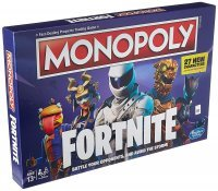 Монополия настольная игра Фортнайт Monopoly Game: Fortnite Edition NEW (27 новых персонажей)