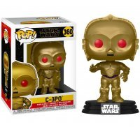 Фигурка Funko Pop Star Wars - C-3PO (Red Eyes) 360