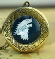 Брелок Game of Thrones Stark Wolf #2 (White)