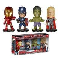 Набор Avengers Age of Ultron Mini Wacky Wobbler 4-Pack
