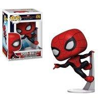Фигурка Funko Marvel: Spider-Man Far from Home ЧЕЛОВЕК-ПАУК В ОБНОВЛЕННОМ КОСТЮМЕ
