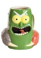 Чашка Рик и Морти - Pickle Rick 3D Sculpted Mug