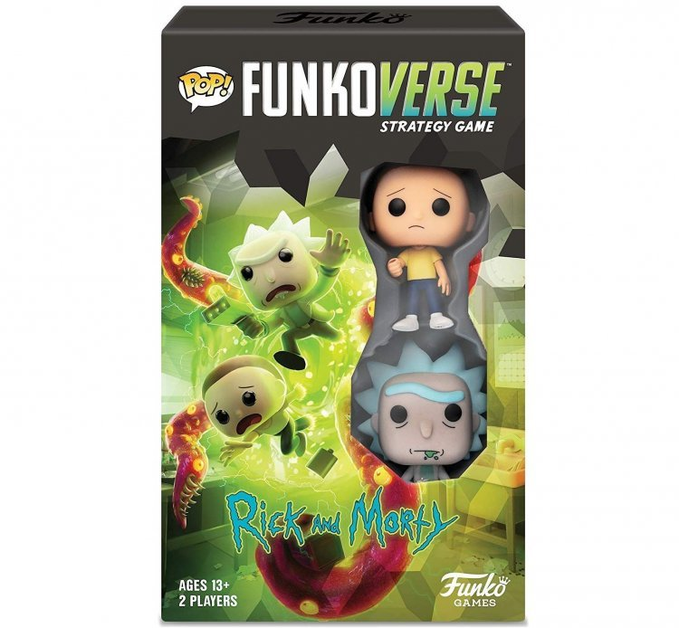 Настольная игра Rick and Morty Funkoverse Strategy Game Рик и Морти #100 - Expandalone
