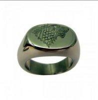 Кольцо Game of Thrones Stark wolf Ring