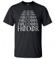 Футболка мужская HODOR Game of Thrones (размер L)