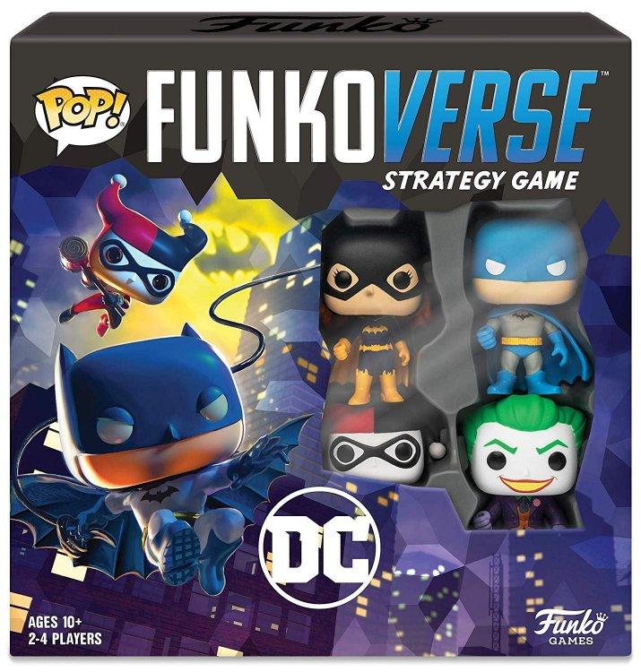 Настольная игра DC Funkoverse Funko Pop Strategy Game DC #100 Base Set