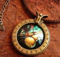 Медальон World of Warcraft  класс монах Monk  (Металл + стекло)