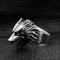 Кольцо Game of Thrones Stark wolf Ring №2
