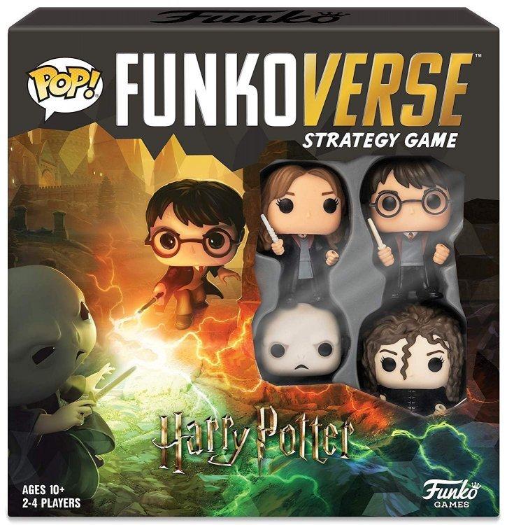 Настольная игра Гарри Поттер Funkoverse Funko Pop Strategy Game: Harry Potter #100 - Base Set