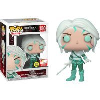 Фигурка Funko Pop! Ведьмак (Witcher) - Ciri GLOW FIGURE E3 2019
