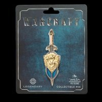 Значок collectible Pin Warcraft LOTHAR SWORD and SHIELD DUAL PIN